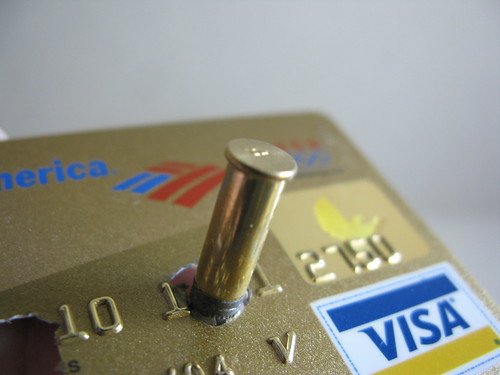 rid of credit card debt