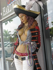 PIRATE WOMAN OF ANNA MARIA ISLAND