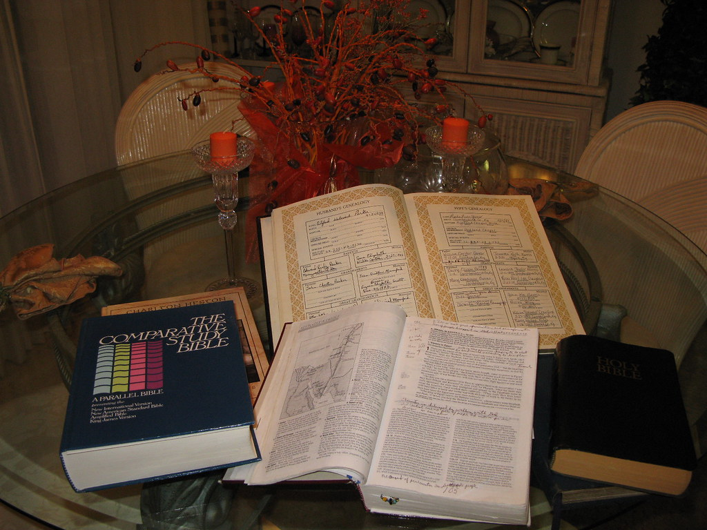 Bible Study Fellowship  (Day 13 of 30 days of gratitude Pool)