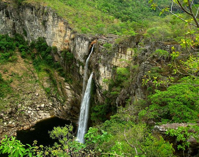 Parque Nacional Chapada dos Veadeiros, ecorregión del Cerrado, Brasil