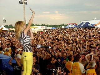 Hayley Williams Onstage, Warped Tour