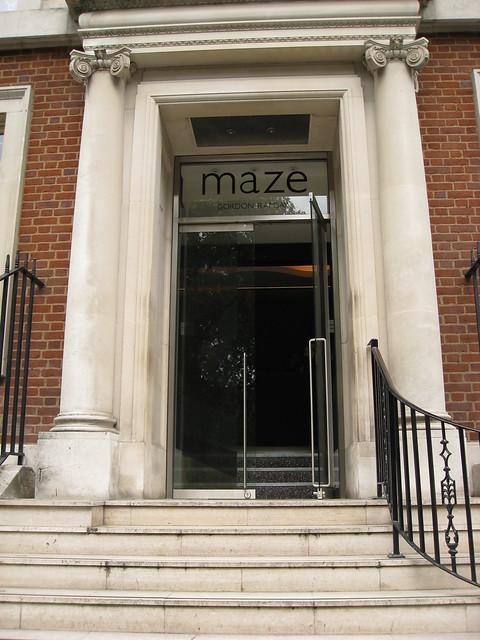 Maze Restaurant London Offers