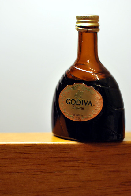 Chocolate Godiva Liqueur Cake