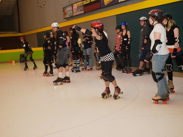Roller Derby Clinic With The Mnrg Explore Marcus Metropoli Flickr Photo Sharing