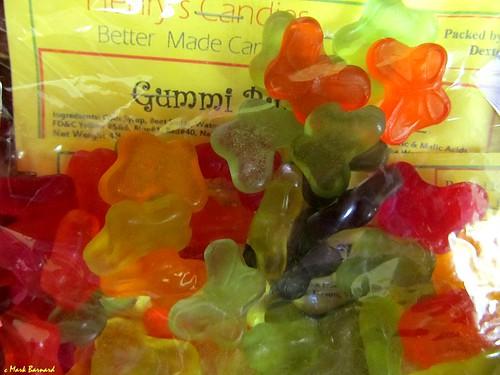 Gummi Butterflies