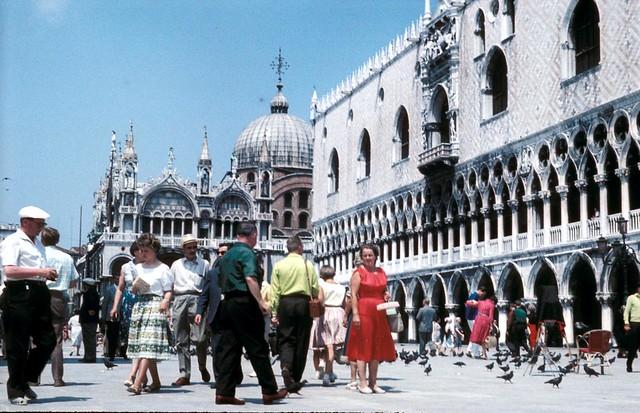 Doge's Palace, Venice 1960 - Flickr CC urnes