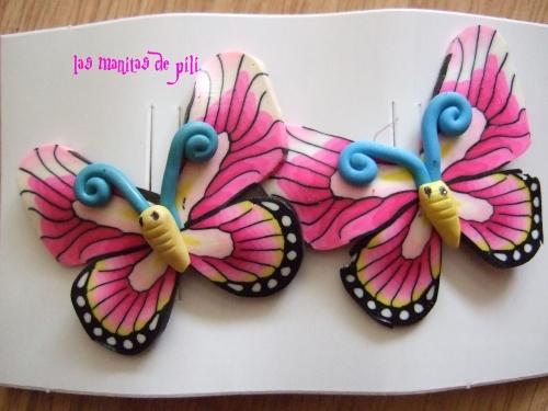 Mariposas en goma eva imagui - Mariposas goma eva ...