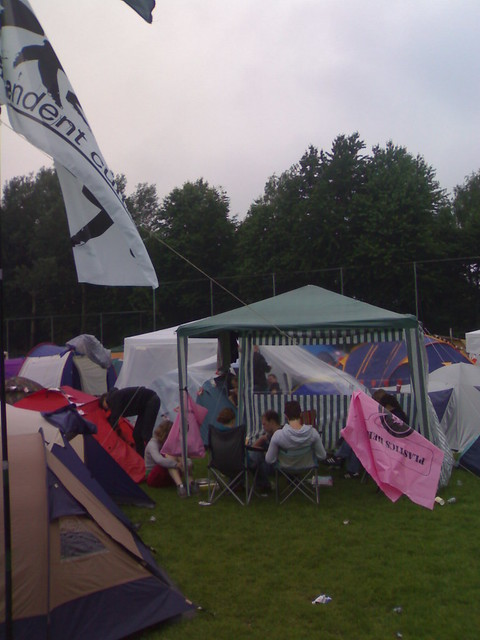 Zxzw flag at the pinkpop camping