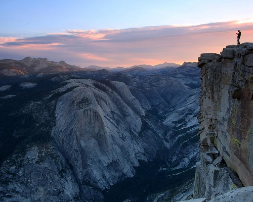 Dawn sky atop Half Dome [9753]