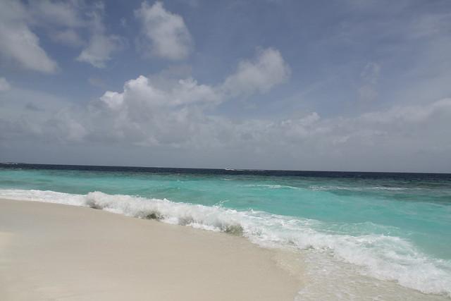 无名小岛的海滩