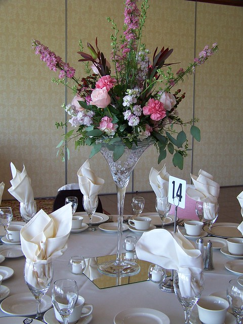Centerpieces reception project wedding forums