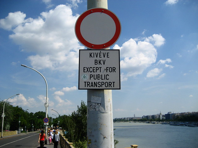 Kiveve Bkv except for public transport | Flickr - Photo Sharing!