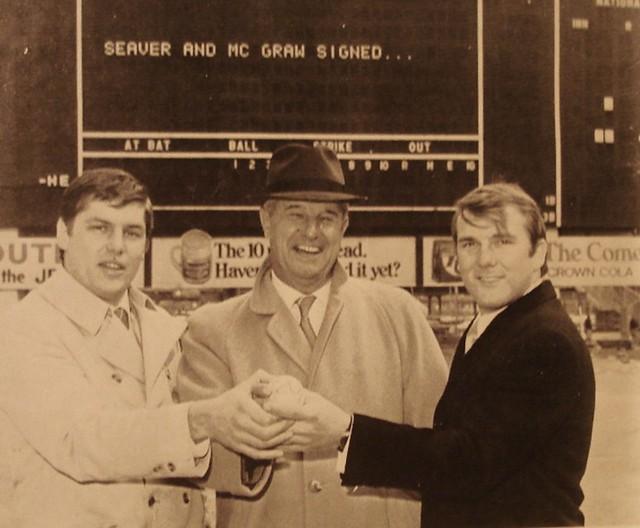 Tom Seaver & Tug McGraw Shea Stadium 1969