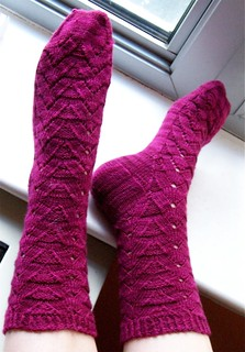 Mikhaela's Mixed Up Monkey Socks