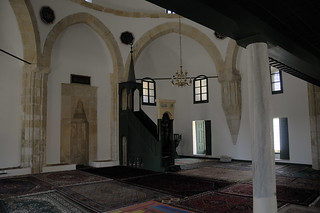 Interior of Hala Sultan Tekke