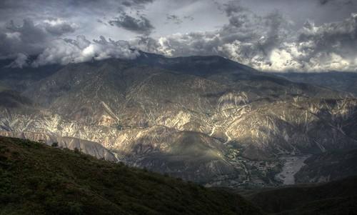 rio river landscape colombia paisaje canyon santander cañon chicamocha pfogold
