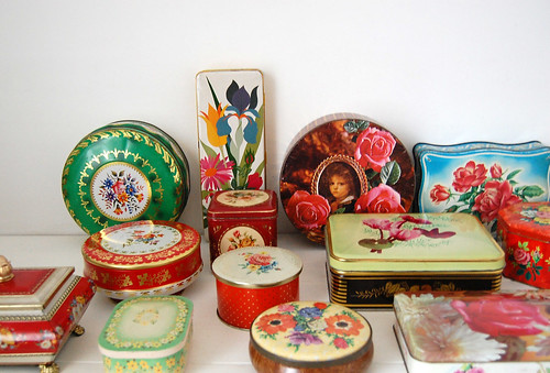 my tin collection