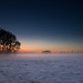 Dutch winter landscape wallpaper