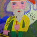 Child's Drawing of a Latvian Santa - Riga, Latvia