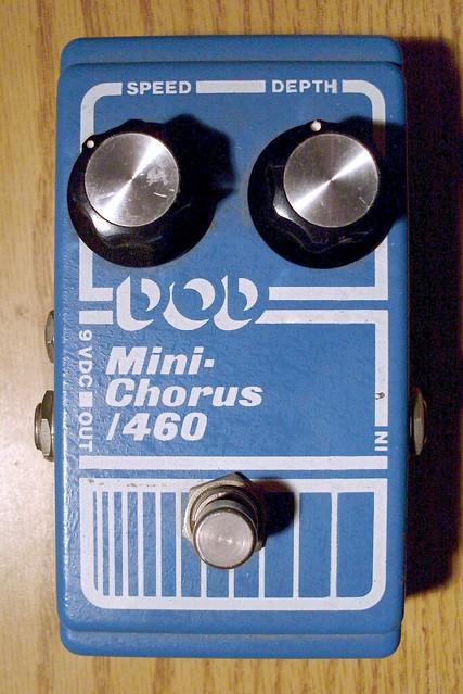 Photo:DOD Mini Chorus 460 By Roadside Guitars
