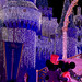 Mickey and Minnie Admire Cinderella Castle at Christmas