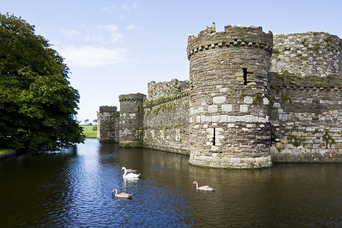 Beaumaris Castle Wales by Jelle Drok, on Flickr