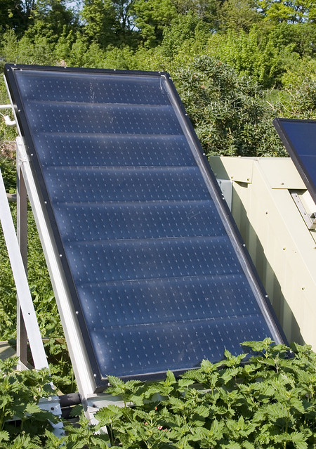 Brighton Earthship Solar Panel Flickr Photo Sharing