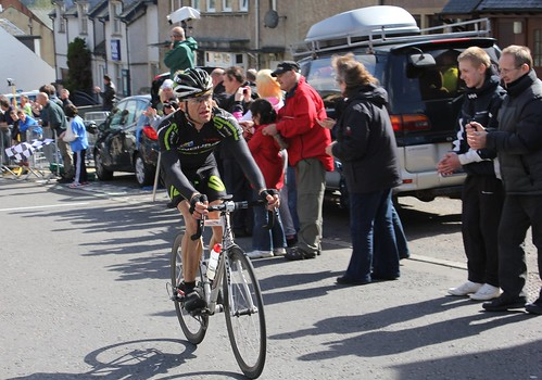 Evan Oliphant, Scottish Road Race Champion, 2011.