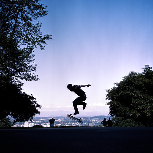 mountain film oregon portland view or hasselblad skate mansion theo portra pittock 80mm