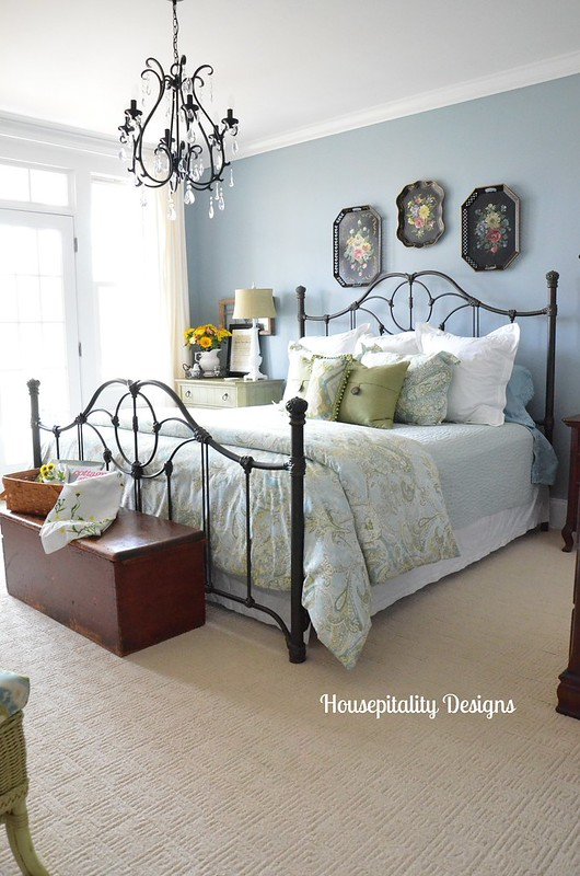 Simply Spring In The Guest Room