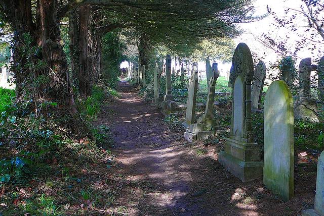 St Gluvias Churchyard, Penryn