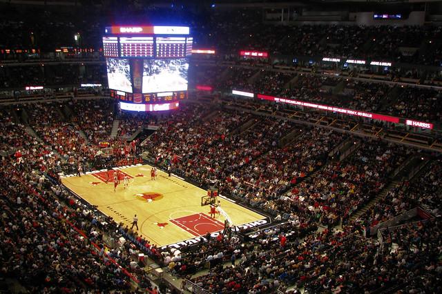 Exterior: Chicago Bulls Vs. Cleveland Cavaliers