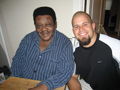 Fats Domino and James Drury Gonsoulin