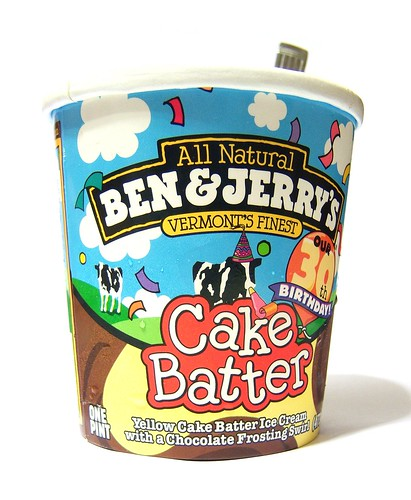 Ben And Jerry S Ice Cream Cake : Ben & Jerry s Cake Batter The girl tastes!