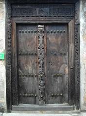 Mahogany door, Fort Jesus