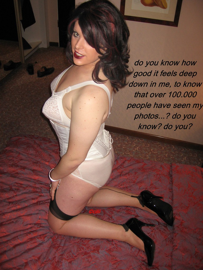 Thank for crossdresser girdle captions can