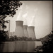 Nuclear Plant by eyecaramba