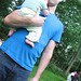 Small photo of Dale + Baby = Adorableness