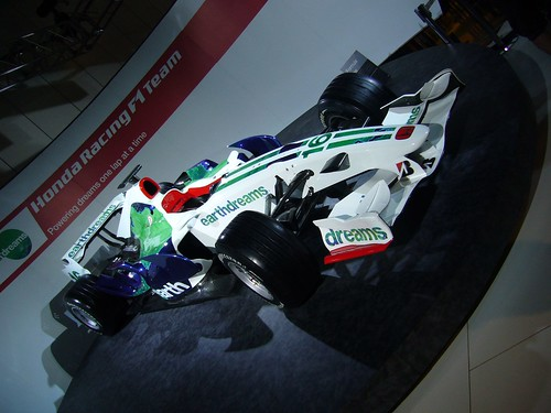 Honda racing F1 car