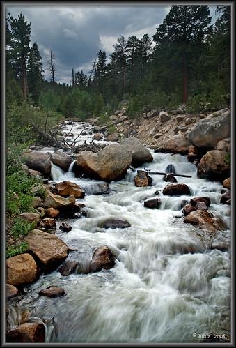 mountain mountains nature creek river landscape stream rmnp rockymountainnationalpark nikond80 nikon1685vr