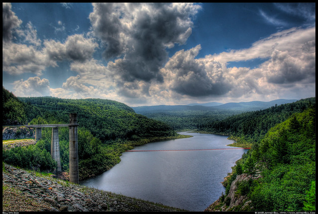 Ball Mountain Dam - Jamaica, Vermont - Public Utility ...