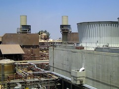industry, cooling tower,
