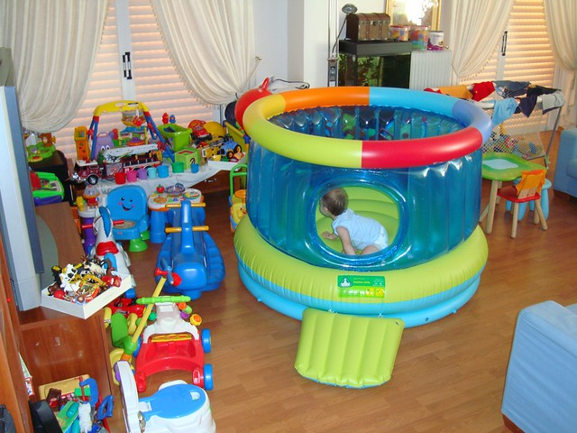 A full with toys living room is our kids 39 heaven for Kids living room