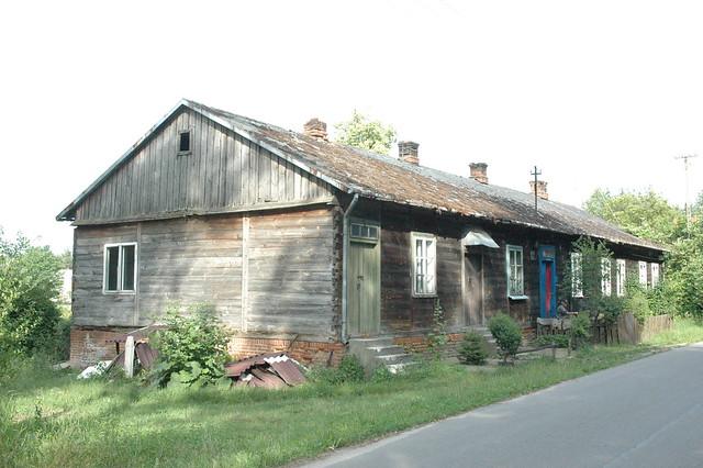 Typical Polish farm house, near Łucznica, Siedlce, Poland ...