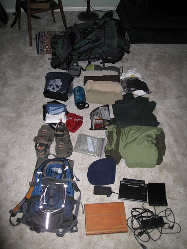 packing bags for grand canyon