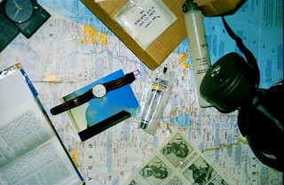 Survival kit, Gulf War,Tel Aviv, Israel, January 1991