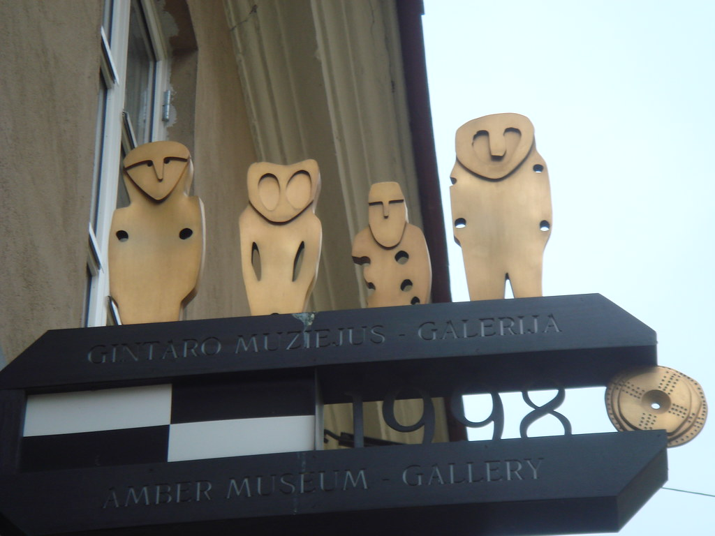 Vilnius amber museum