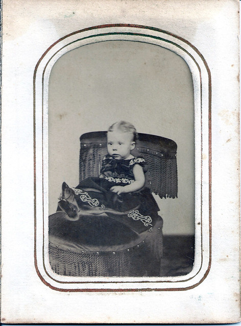 Carrie Louise Horton March 1866, 10 Months Old