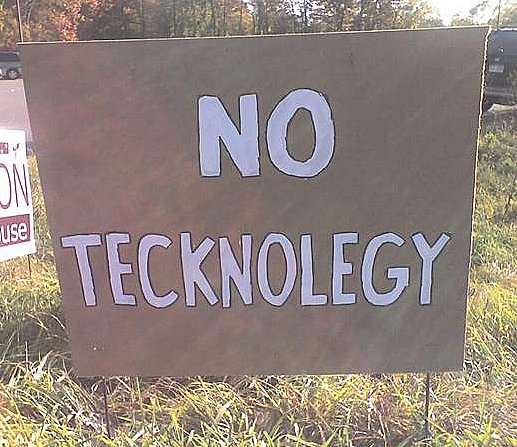 No tecknolegy by Sammy0716