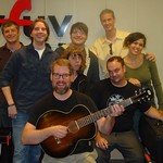 The Decemberists with Russ Borris at WFUV